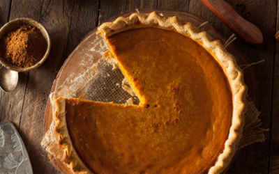A pumpkin pie everyone likes